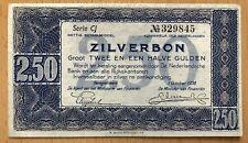 Niederlande 2,50 Gulden 1938 Kassenfrisch. P 62 UNC