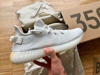 Adidas Yeezy Boost 350 V2 Cream White Weiss EU 46 / US 11.5 Neu Zebra Yebra Bred
