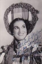 MONIQUE FLORENCE opera soprano signed photo as Musetta Natalie Dessay teacher