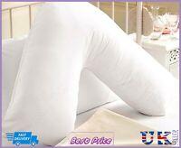 V Pillow + Case, Support for Back Neck & Shoulders - Case In All Colours