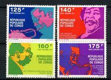 Congo Brazzaville 1973 SG#345-8 Negro Musicians MNH Set #A39073