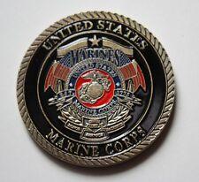US Marine Corps Challenge Coin. United States Marine Corps.