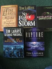 Lot Of 5 Books , Religion, God, Rapture by LaHaye, Tim