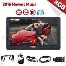 "XGODY 7"" Portable Car GPS Navigation Lorry Truck Navigator Nav 8GB Speedcam POI"