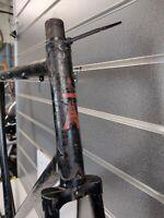 """Vintage Paris Harry Rensch """"Tour De France"""" Steel Frame & Forks 23"""" Rare Find"""