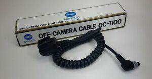 Minolta OC-1100 OFF-Camera CABLE + OS-1100 OFF-CAMERA SHOE
