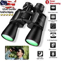 180x100 Zoom Day Night Vision Travel Binoculars Hunting Concerts Telescope+ Case