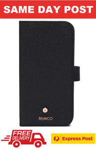 MIMCO SUBLIME FLIP CASE IPHONE 11 CASE COVER  BLACK ROSE GOLD RRP$99.95- EXPRESS
