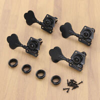 4PCS Electric Alloy Guitar Open Gear Tuning Pegs for Precison Bass Replacement