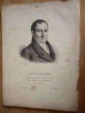 ROYER COLLARD MEDECIN MORT EN 1825