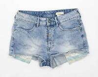 Womens H&M Blue Denim Shorts Size 10/L2