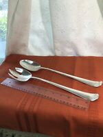 Vintage Gerity Large Silver Plated Spoon & Salad Fork Serving Set G48