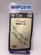 PINCCAT HAIR GEMS STONE BOBBY PINS 2 - COUNT CLIPS BARRETTES  # AHPC018
