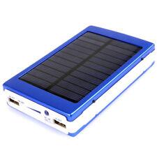 Solar Emergency Power Bank 12000mah Charger Battery 20 LED Light / Dual USB 2A