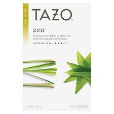 TAZO TEA ORGANIC ZEN GREEN TEA, Relaxing & Calming (20 bags) Fast FREE Shipping