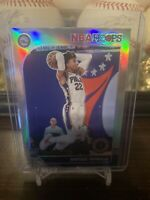 Matisse Thybulle 2019-20 Hoops Premium Stock silver prizm rookie card RC #239