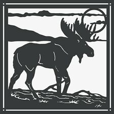 Dxf Cdr Files For Cnc Plasma Router or Laser Cut Dxf File - Moose Scene