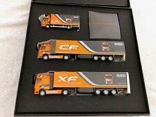 WSI 3 er Set Werbebox mit 3 DAF Modellen LF , CF + XF in 1:87 Händlermodelle