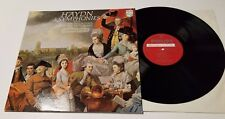 PROMO HAYDN LEPPARD ECO LP SYMPHONIES #9, #22, & 47 PHILIPS 839796LY NM