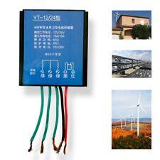 400W 12V/24V Waterproof Charge Controller Wind Turbine Generator W/ Manual Brake