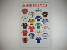 1.Bundesliga Magnet-Trikot-Pins 15/16 Liga Pin DFL 2015/2016 Neu Magnet Tabelle