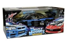 2000 NISSAN SKYLINE GTR 1/18 SS TUNER MUSCLE MACHINES 71169 BLACK