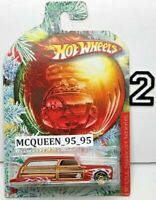 HOT WHEELS HOLIDAY HOT RODS PURPLE PASSION WOODIE