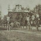 American Civil War Union Army XV Corps 40 Rounds Camp Photo Stereoview B243