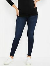 30 Adriano Goldschmied Jeans Secret Fit Belly Legging Ankle Maternity Jeans Blue
