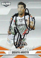 ✺Signed✺ 2013 WESTS TIGERS NRL Card BRAITH ANASTA
