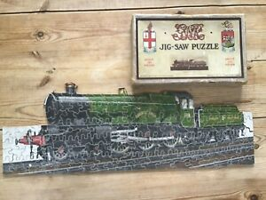 Vintage Jigsaw Puzzle - GWR Caerphilly Castle Chad Valley