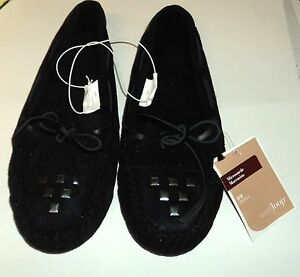 WESTLOOP Women's Microsuede Moccasins Size SMALL 5/6 NWT