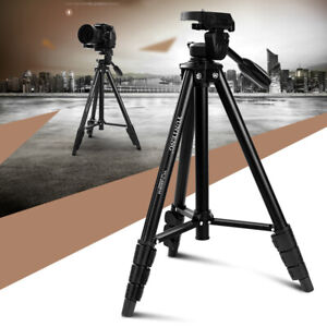 Portable DV Video DSLR Camera Tripod Stand Cell Phone Clamp For Canon Nikon Sony