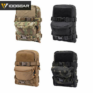 Tactical Military Hydration Pack Hydration Backpack Molle Pouch Paintball Hiking