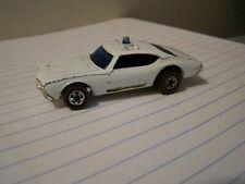 Vintage 1969 Hot Wheels Redline Oldsmobile Cutlass 442 Police Cruiser Mattel