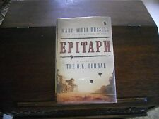 EPITAPH by Mary Doria Russell, SIGNED, 1st ed/1st printing (2015, Hardcover)