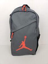 Nike Air Jordan Backpack Laptop Sleeve Jump Man Logo Dark Gray 9A1910-G1A