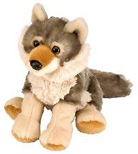 Plüschtier Wolf Kuscheltier Cuddlekins, Stofftier Welpe grau ca.20cm