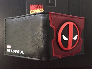 MARVEL Deadpool Wallet Purse Mens Kids Comics Movie PC PS4 Xbox Wii Awesome AUS
