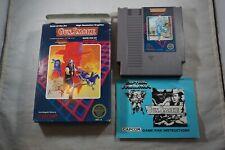 Gun Smoke (Nintendo NES) Complete in Box GOOD