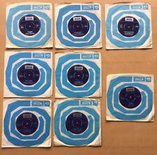 Engelbert Humperdinck 7 vinyl singles Plus 1 X Tom Jones