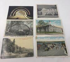 Postcard LOT OF 5 Vintage Postcards Pennsylvania  PA 1900's turnpike lancaster