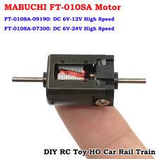 DC 6V 9V 12V 24V High Speed Dual Shaft Micro Mini Motor Engine RC Car Rail Train