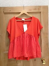 Zara V Neck Cap Sleeve Tops & Shirts for Women