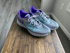 NEW WOMEN'S NIKE AIR RELENTLESS 6 SHOES grey/purple/turqoise 843882-003 SIZE 9
