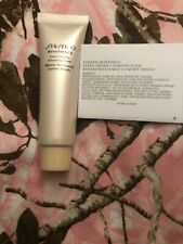New Lot Of 10 Shiseido Benefiance Extra Creamy Cleansing Foam 30ml/+Free Sample