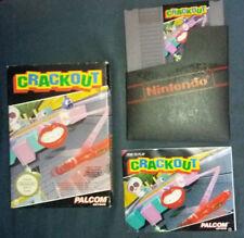 Nintendo Nes Crackout Complet Vintage Pal Konami