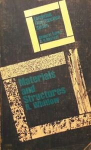 Materials and Structures (LTS) Whitlow, R 0582420067. FREE POST UK