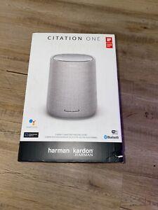 NEW* Harman Kardon Citation One Smart Speaker with Google Assistant - Gray