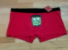 Nwt MOSSIMO SUPPLY CO mens boxer briefs FRANKENSTEIN red S M L XL
